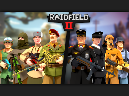 Raidfield 2 - Online WW2 Shooter