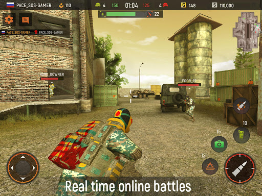 Striker Zone Mobile: Online Shooting Games