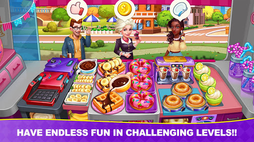 Cooking Frenzy: Madness Crazy Chef Kochspiele