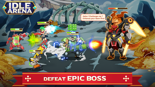 Idle Arena - Clicker Heroes Battle