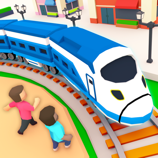 Idle Sightseeing Train - Game of Train Transport