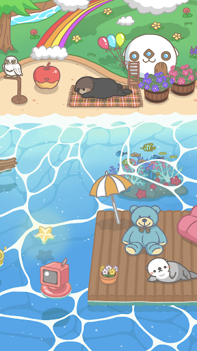 Rakko Ukabe - Let's call cute sea otters!