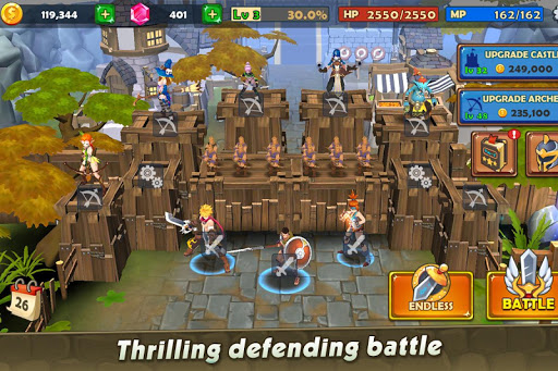Castle Rush: Hero defender & Idle defense