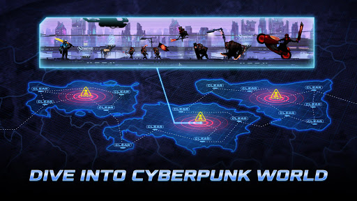 Cyber Fighters: Legends Of Shadow Battle