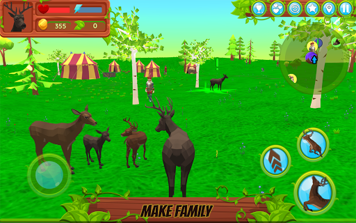 Deer Simulator - Animal Family