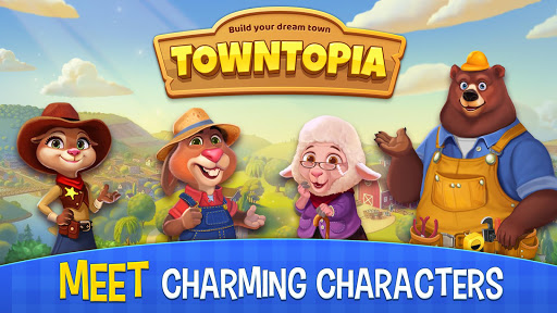 Towntopia: Build and Design your adorable Home