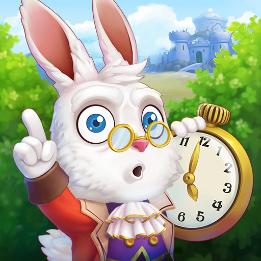 WonderMatch™-Match-3 Puzzle Alice's Adventure v2.8 (Mod Apk) logo