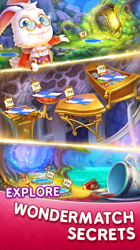 WonderMatch™-Match-3 Puzzle Alice's Adventure 2020