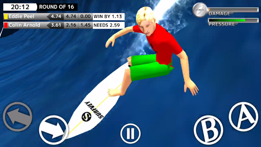 BCM Surfing Game