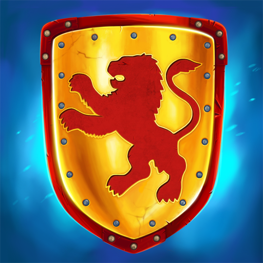 Castle fight: Heroes 3 medieval battle arena v1.0.29 (Mod Apk) logo