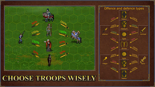 Castle fight: Heroes 3 medieval battle arena