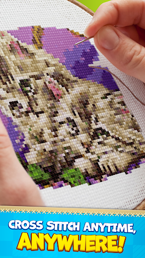 CROSS-STITCH: COLORING BOOK