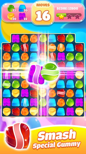 Jelly Jam Crush - Match 3 Games & Free Puzzle Game