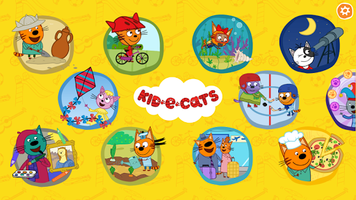 Kid-E-Cats. Educational Games