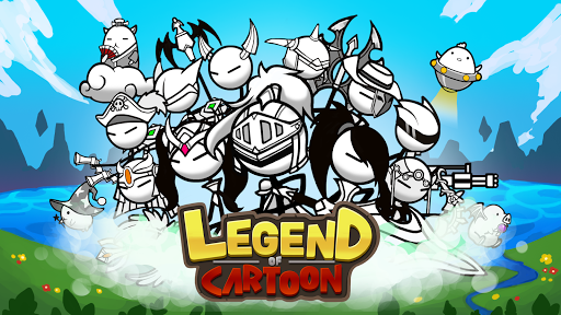 Legend of the cartoon - idle RPG