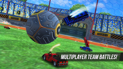 Rocket Soccer Derby: Multiplayer Demolition League