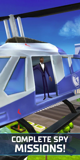 Spies in Disguise: Agents on the Run