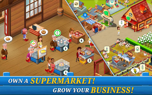 Supermarket City : Farming game