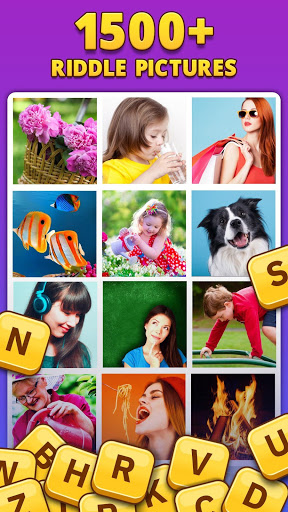 4 Pics 1 Word Pro - Pic to Word, Word Puzzle Game