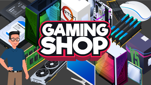 Gaming Shop Tycoon - Idle Shopkeeper Tycoon Game
