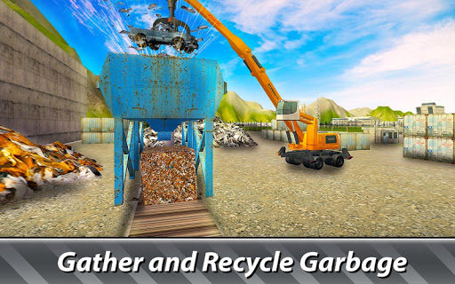 Garbage Trucks Simulator - try junkyard machines!