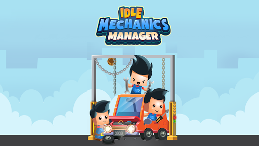 Idle Mechanics Manager – Car Factory Tycoon Game