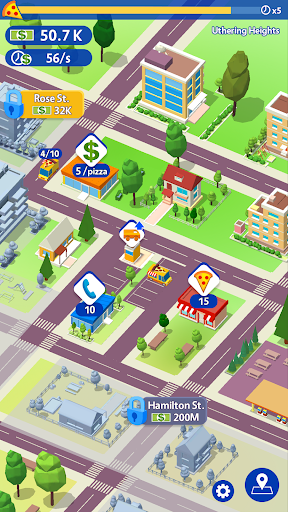 Idle Pizza Tycoon - Delivery Pizza Game