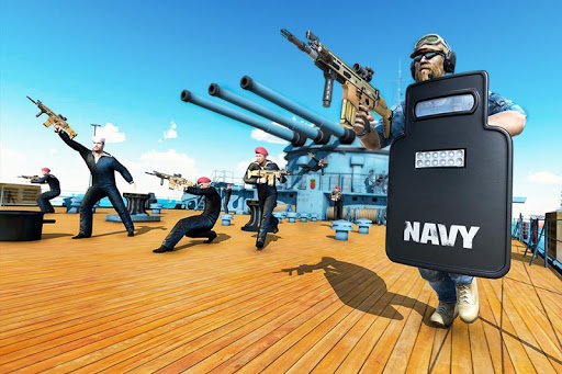 Navy Gun Strike - FPS Counter Terrorist Shooting