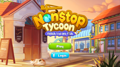 Nonstop Tycoon - Match 3 to get rich