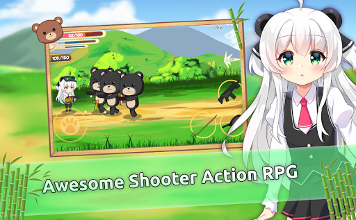 Pandaclip: The Black Thief - Action RPG Shooter