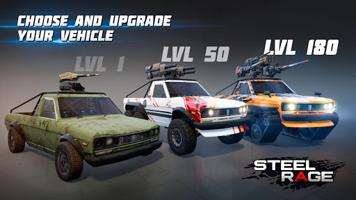 Steel Rage: Mech Cars PvP War, Twisted Battle 2020