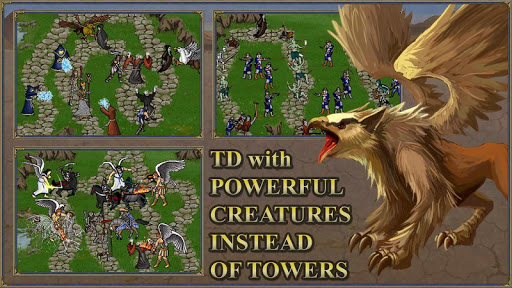 TDMM Heroes 3 TD: Fantasy Tower Defence games