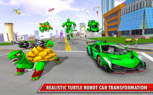 Turtle Robot Animal Rescue – Robot Car Transform