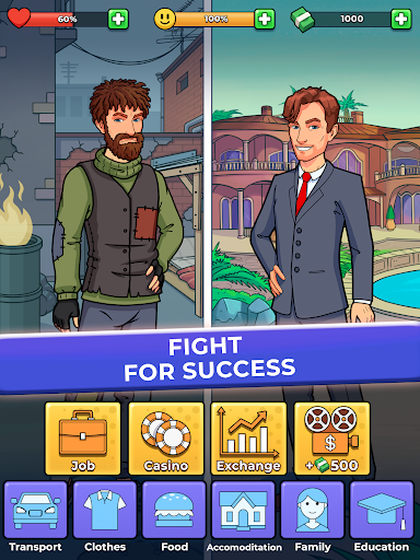 Hobo Life: Business Simulator & Money Clicker Game