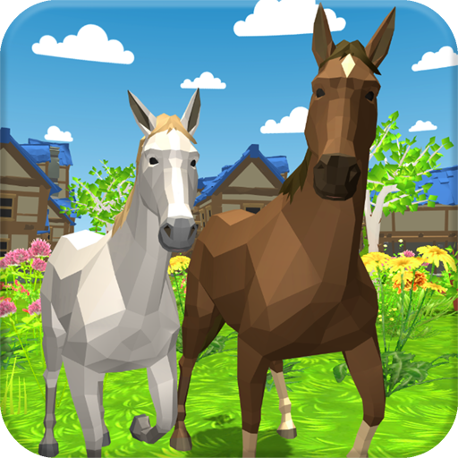 Horse Family - Animal Simulator 3D