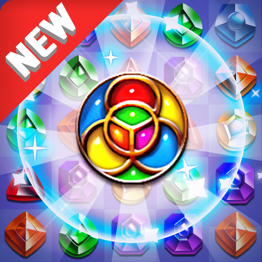 Jewel Kraken: Match 3 Jewel Blast v1.7.0 (Mod Apk Money) logo