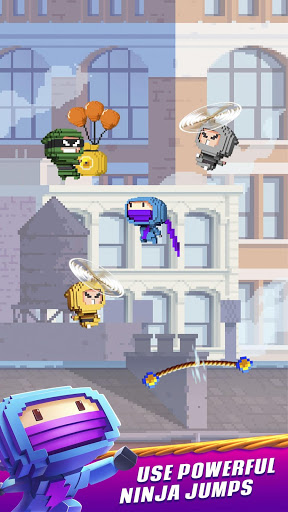 Ninja Up! - Endless arcade jumping