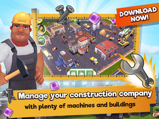 Construction Hero - A Building Tycoon Game