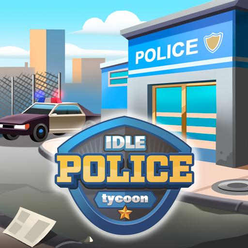 Idle Police Tycoon – Cops Game v1.1.1 (Mod Apk) logo