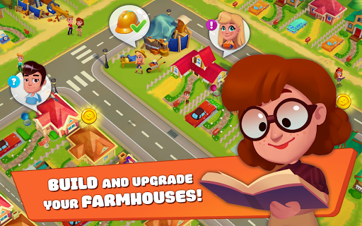 Ranchdale: township & village 2 farming games in 1
