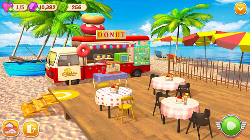 Cooking Home: Design Home in Restaurant Games