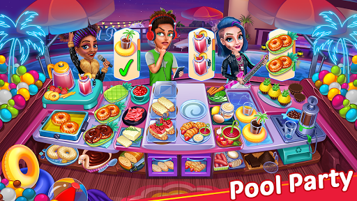 Cooking Party: Restaurant Craze Chef Cooking Games