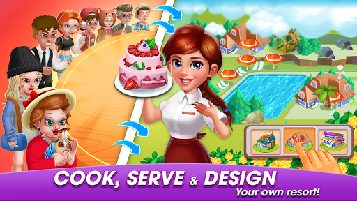Cooking World: Casual Cooking Games of my cafe'