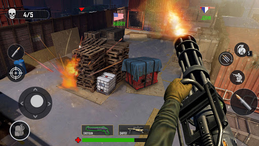 Critical Action Special Ops :Fps Gun Shooting Game