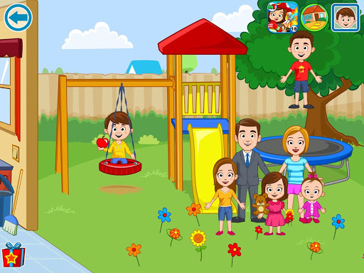 My Town: Home DollHouse - New Kids play house game