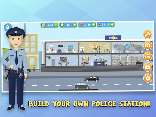 Police Inc: Tycoon police station builder cop game v1.0.20 ...