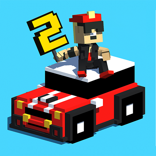 Smashy Road: Wanted 2 v1.14 (Mod Apk) logo