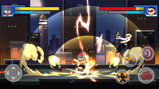Stick Super: Hero - Strike Fight for heroes legend