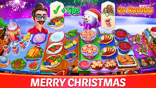 Christmas Cooking : Crazy Restaurant Cooking Games