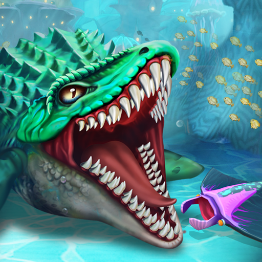 Dino Water World 3D v1.20 (Mod Apk) logo